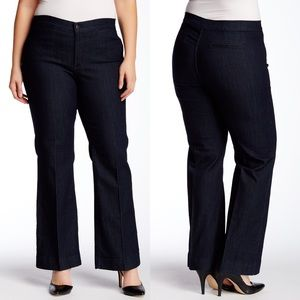 NYDJ Michelle Trouser High Waisted Blue Jeans